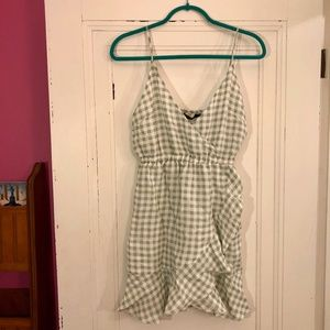 Brand New w/ Tags Nasty Gal Gingham Dress